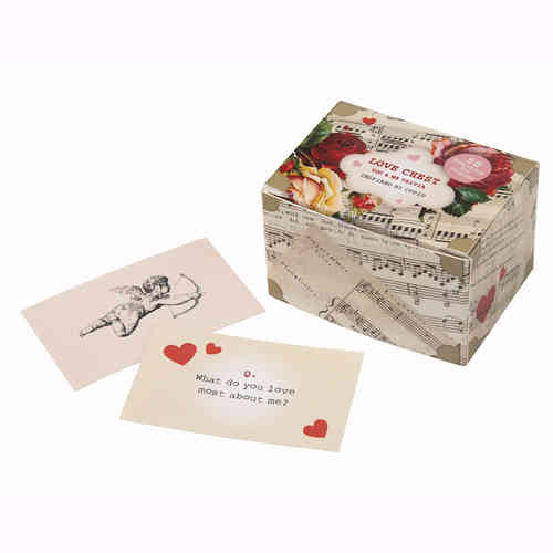 Love Chest Trivia Cards - Love Talk