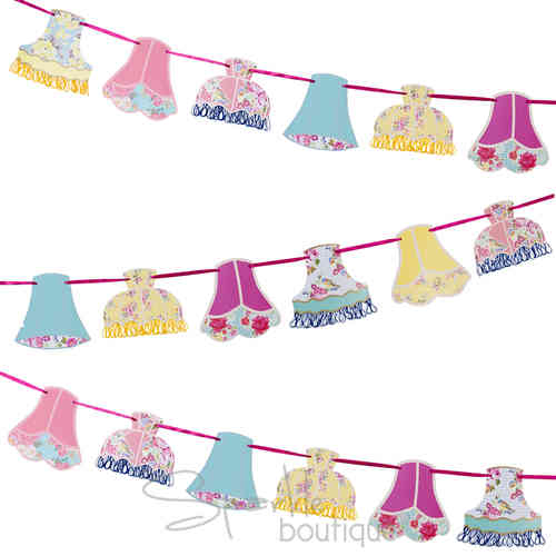Truly Scrumptious - Lampshade Bunting