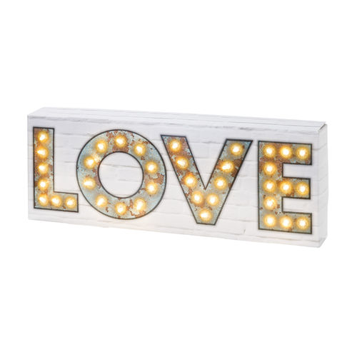 Light Up 'LOVE' Sign