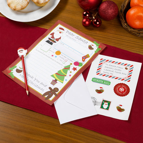 Christmas Craft Letter to Santa Kit