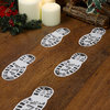 Father Christmas / Santa Boot Prints