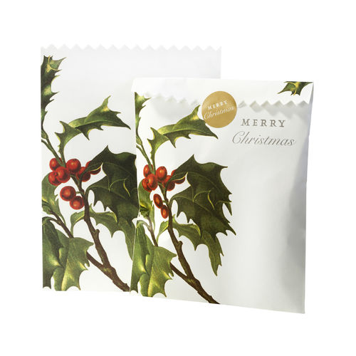 Botanical Christmas - Paper Bags & Stickers