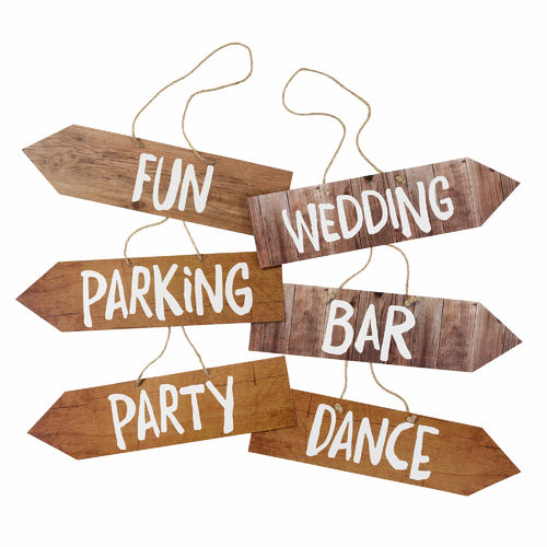 Blossom & Brogues - Wedding Venue Signs