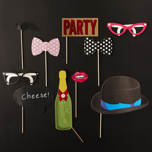 General Birthday Party Photo Booth Kit