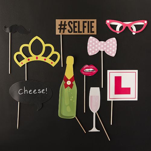 Hen Party Photo Booth Kit