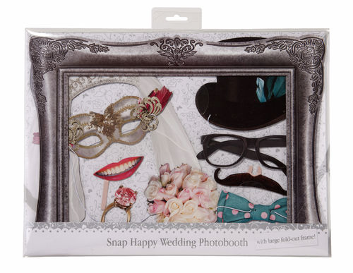 Wedding Photo Booth Props With Frame