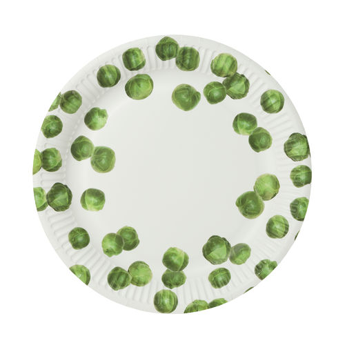 Christmas Sprout - Paper Plates