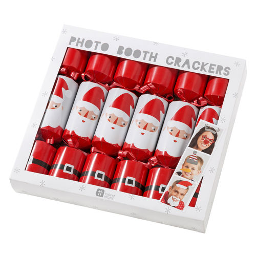Santa Photo Booth Christmas Crackers